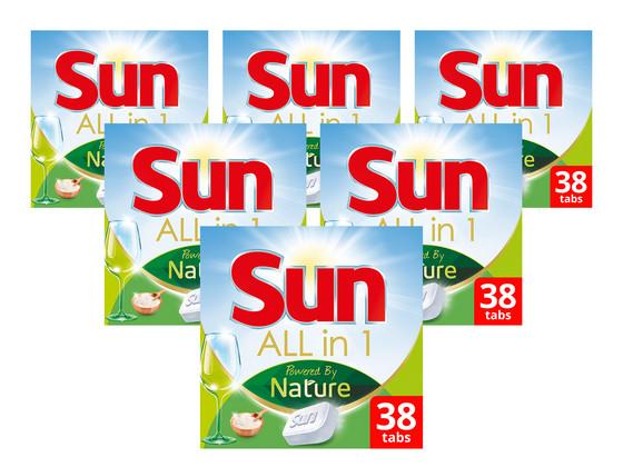 Sun All-in-1 Powered by Nature | 228 Stuks