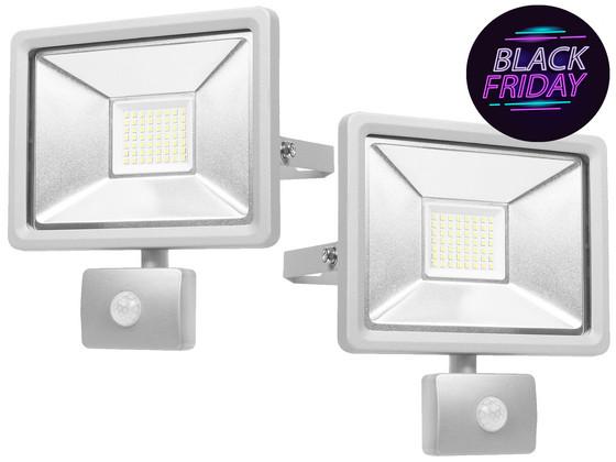 2x Smartwares LED Beveiligingslamp