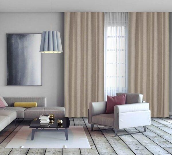Luxe Geweven Gordijnen (150 x 260 cm) | Verduisterend