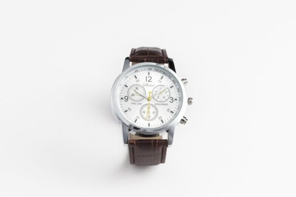 Herenhorloges met Lederen Band | 1+1 GRATIS | Sportief en luxe tegelijk
