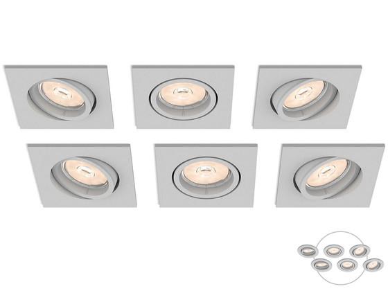 6x Philips Enneper Inbouwspot | GU10