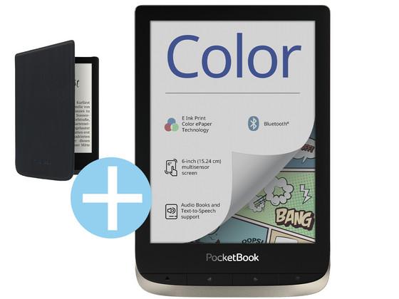Pocketbook Color E-Reader + Gratis Cover