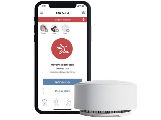Minut Point Smart Home Alarm