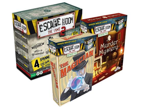 Escape Room The Game II (Plus Uitbreidingen)
