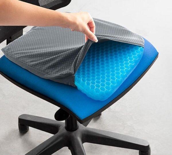 Ergonomisch Kussen voor je Bureaustoel | Pijnloos thuiswerken