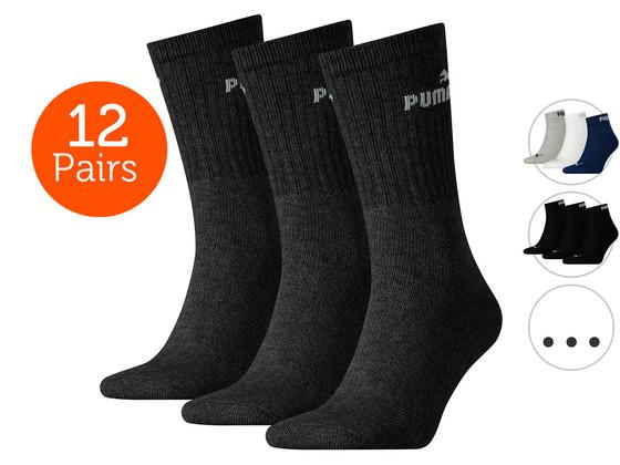 12 Paar Puma Sokken