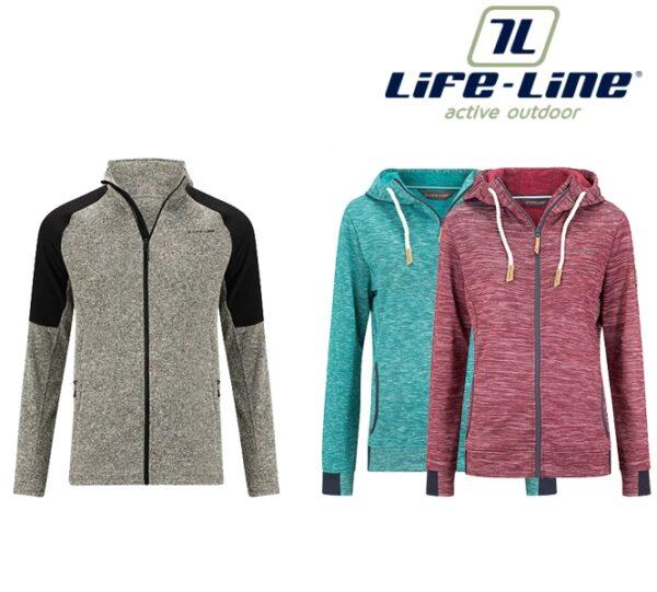 Fleece vesten van Life-Line   Lekker Warm voor de koude dagen