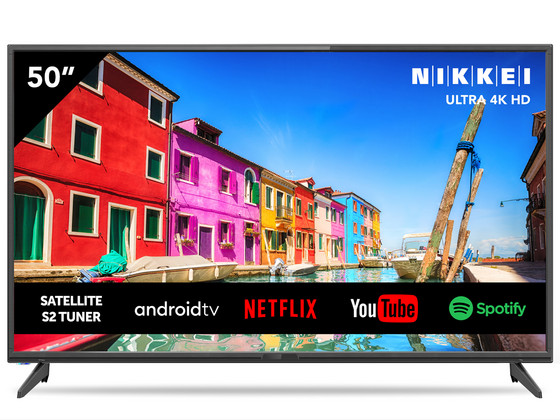 "Nikkei 50"" Ultra HD DLED Smart TV"