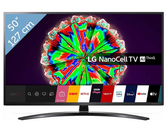"""LG 4K Smart NanoCell 50"""" TV"""