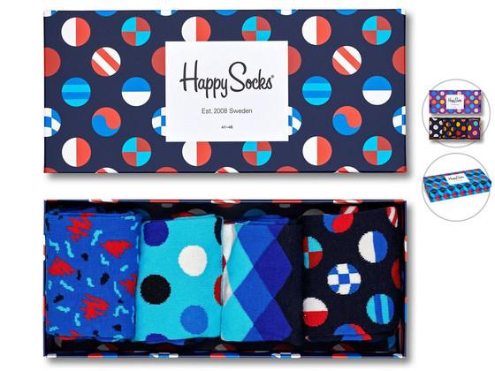 Happy Socks Giftbox (4 Paar)