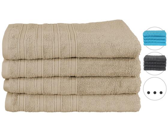 4x Seashell Handdoek 70 x 140