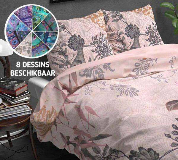 Schitterende verwarmende flanellen dekbedovertrekken l Met verschillende designs